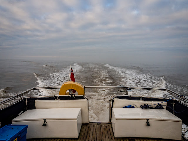Photo of Ravensdale heading out on the Solway Firth