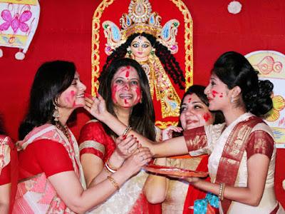 durga puja photos for facebook