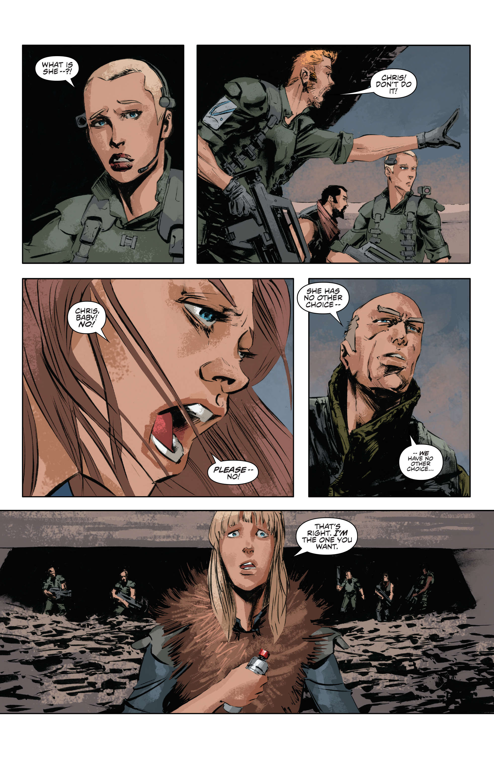 Read online Alien Vs. Predator: Life and Death comic -  Issue #4 - 3