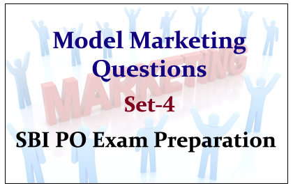 Important Marketing Questions for SBI PO