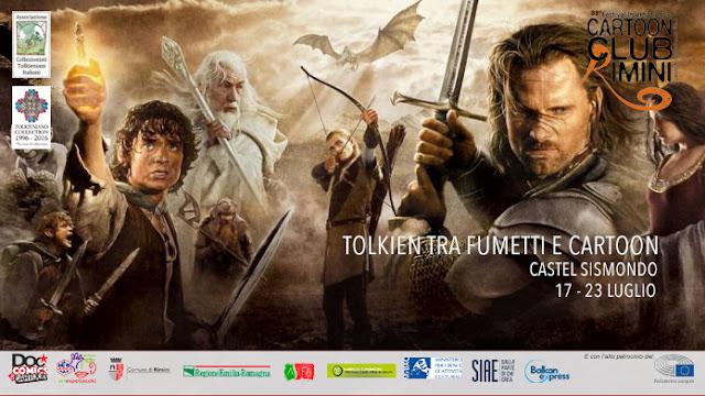 Tolkien al Riminicomix - Cartoon Club di Rimini | 17-23 luglio