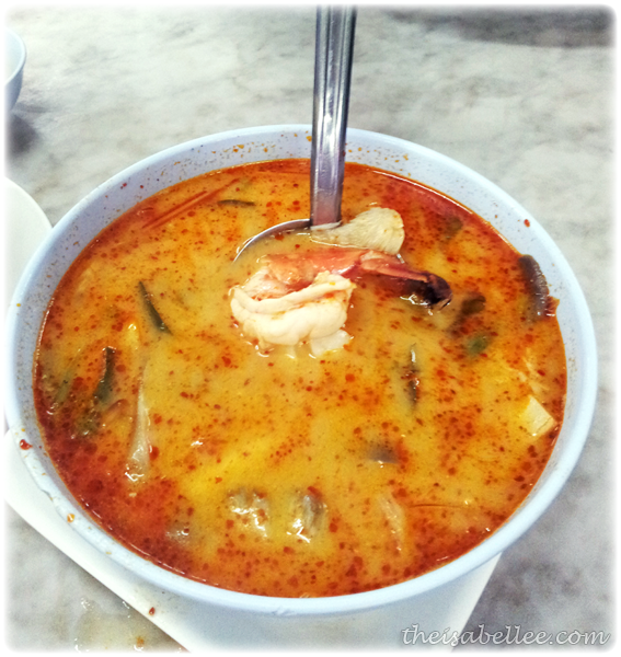Tom Yum Kung in Hua Hin