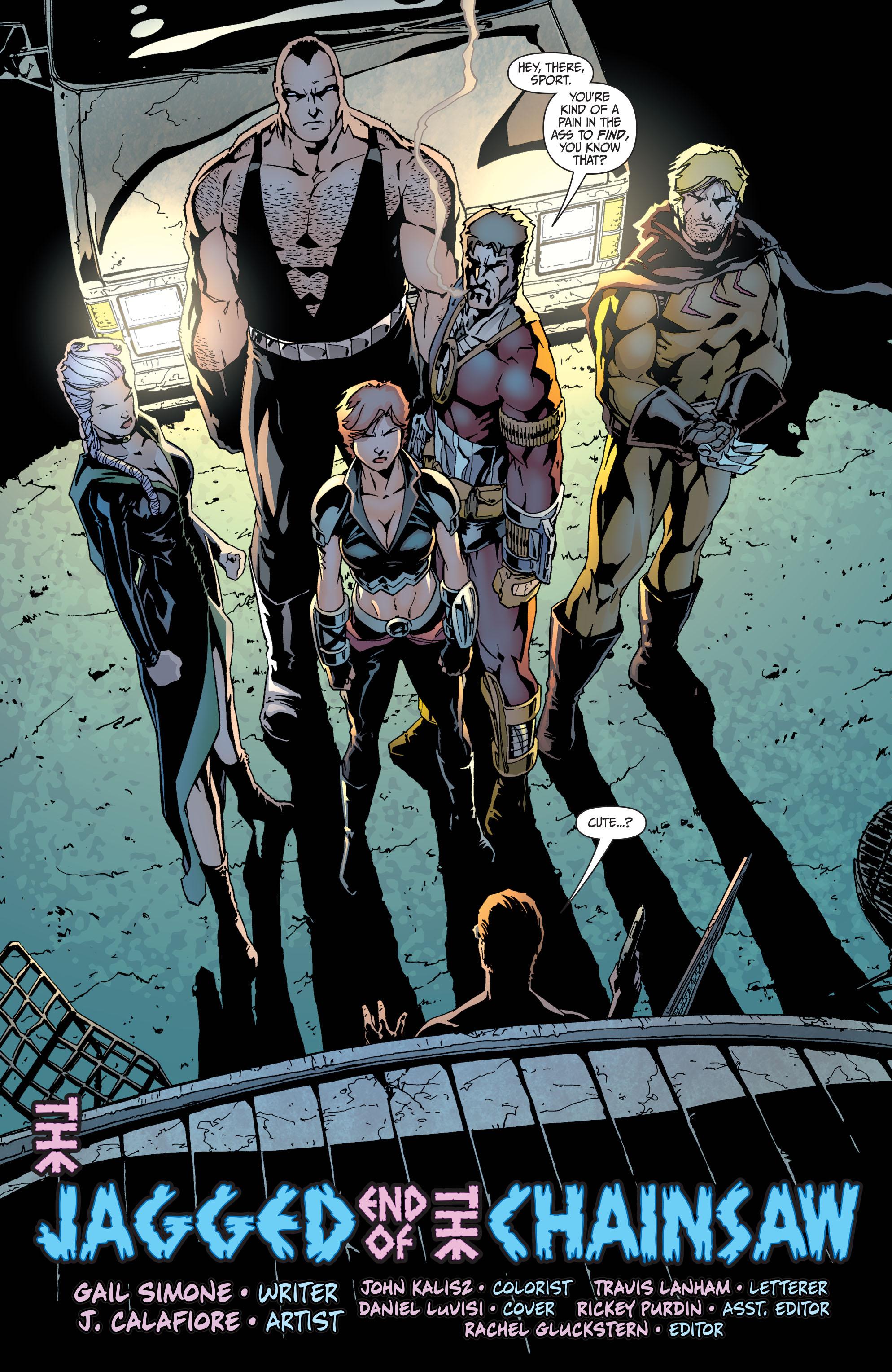 Read online Secret Six (2008) comic -  Issue #34 - 5
