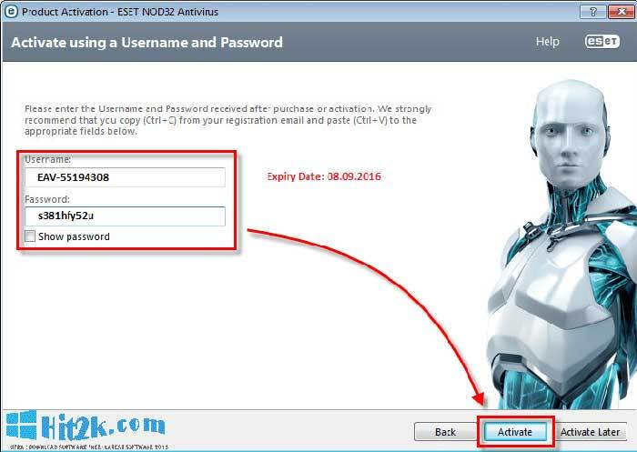 eset internet security 10 license key free