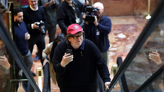 Michael Moore Offers Trump Ominous Warning Of Protests, Riots To Come