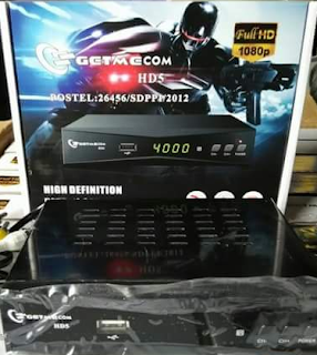 RECEIVER GETMECOM HD5 ROBOCOP SUPPORT POWERVU