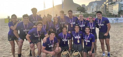 Planteles para los Juegos Odesur Playa #RugbyPlaya #Rosario2019