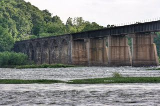 Shocks Mill Bridge on the Susquehanna, Pennsylvania