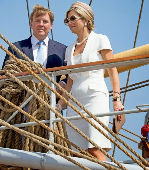 King Willem-Alexander And Queen Maxima Visits Aruba For Sail Aruba 2015