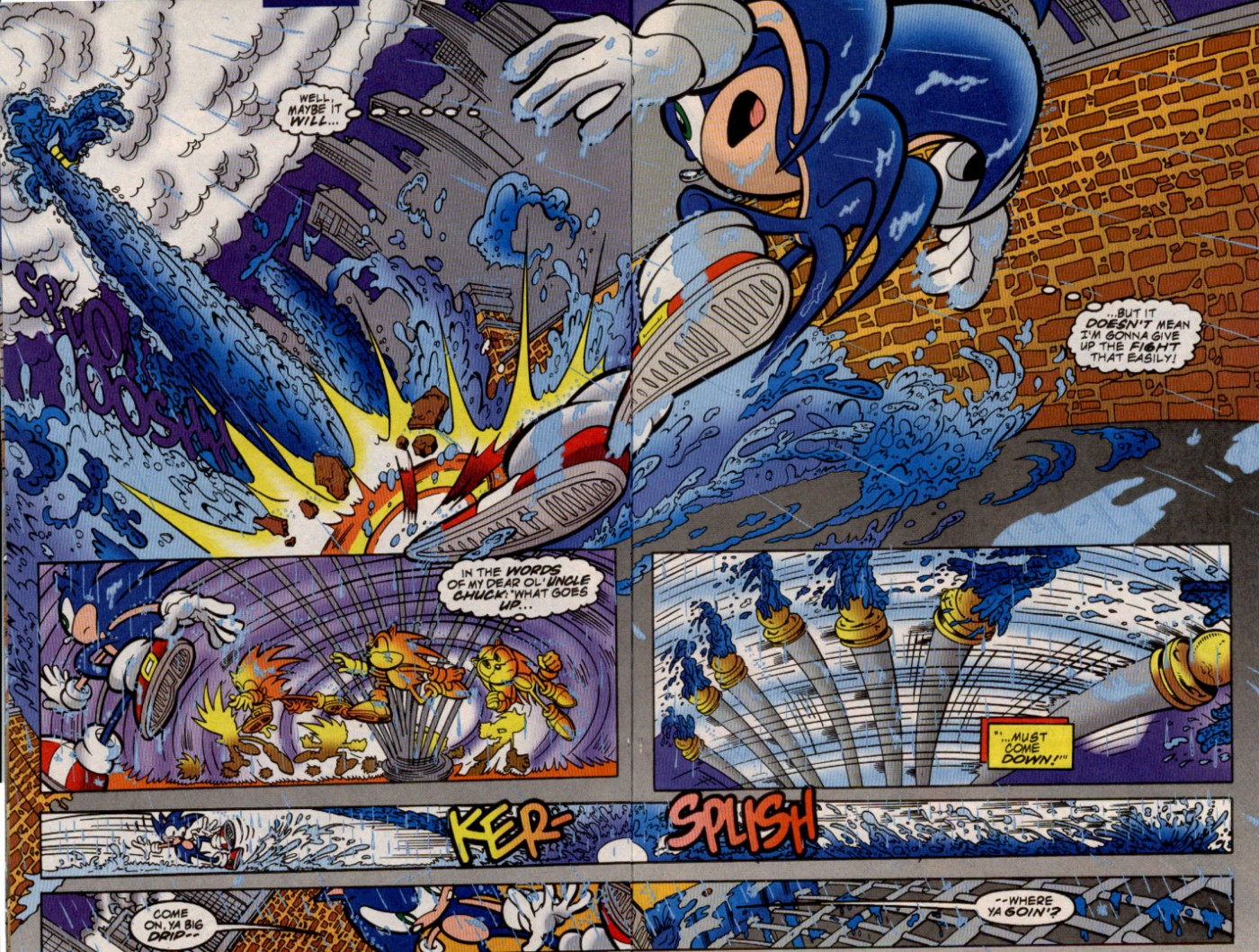 Read online Sonic The Hedgehog comic -  Issue #82 - 7