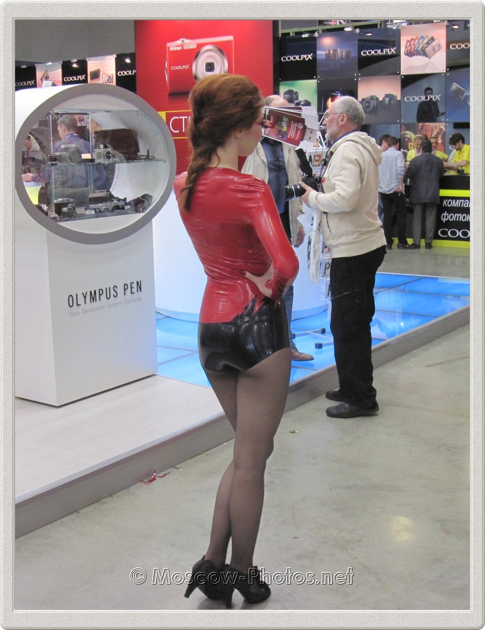 Promo Model at Photoforum - 2010