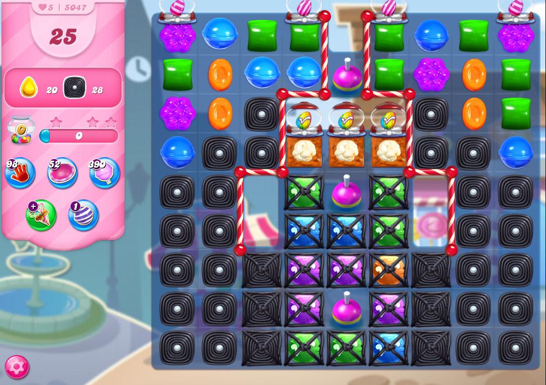 Candy Crush Saga level 5047
