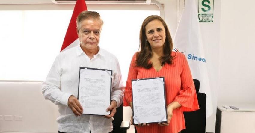SINEACE firma convenio con CIEES de México para fortalecer la evaluación y acreditación - www.sineace.gob.pe