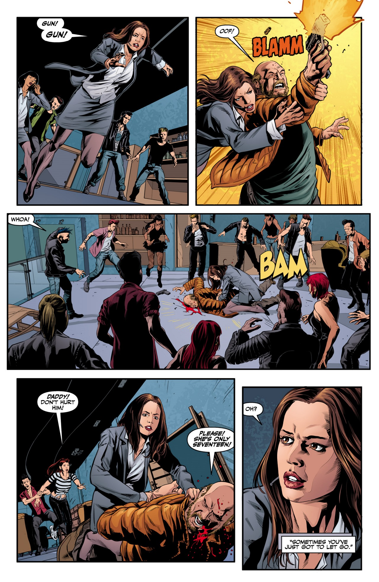 Read online Angel & Faith Season 10 comic -  Issue #2 - 21