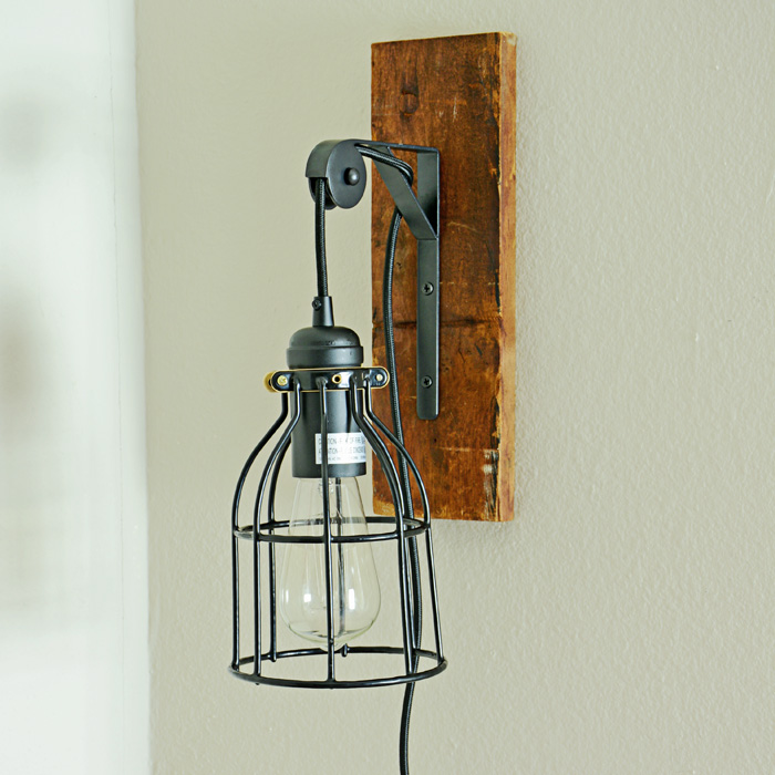 I Should Be Mopping The Floor: DIY Industrial Light Fixture
