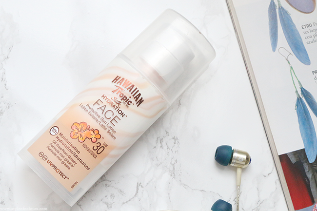 Hawaiian Tropic Silk Hydration Face Lotion