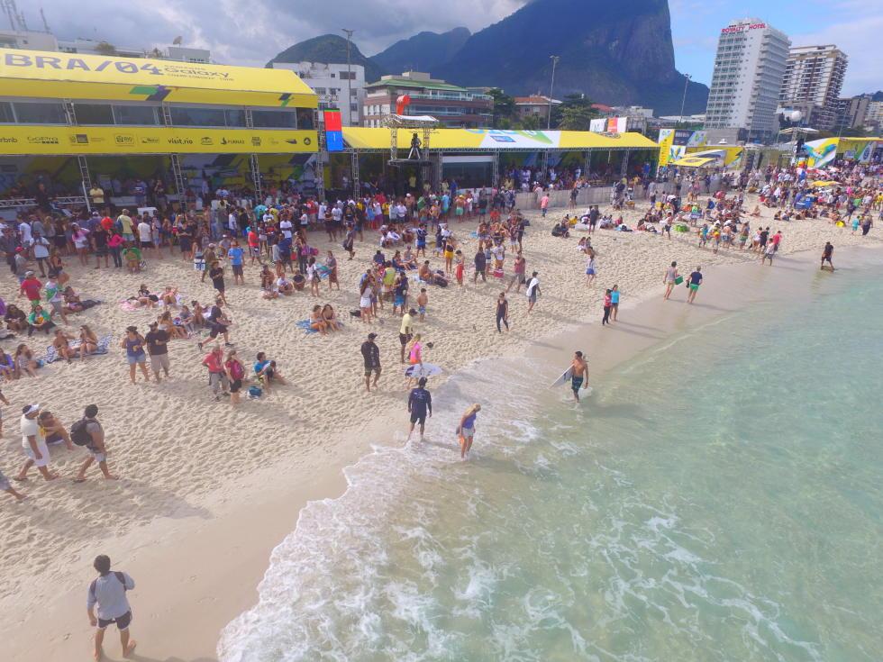 5 Postinho event site 2016 Oi Rio Pro fotos WSL Daniel Smorigo
