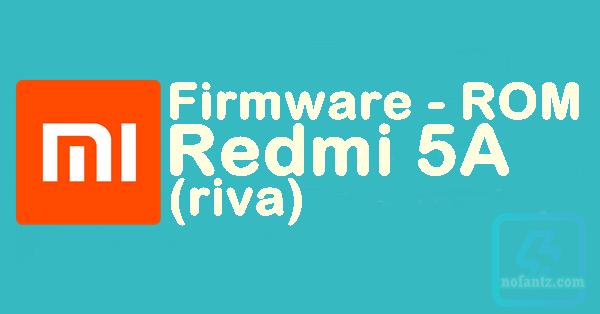 Firmware Redmi 5A (riva)