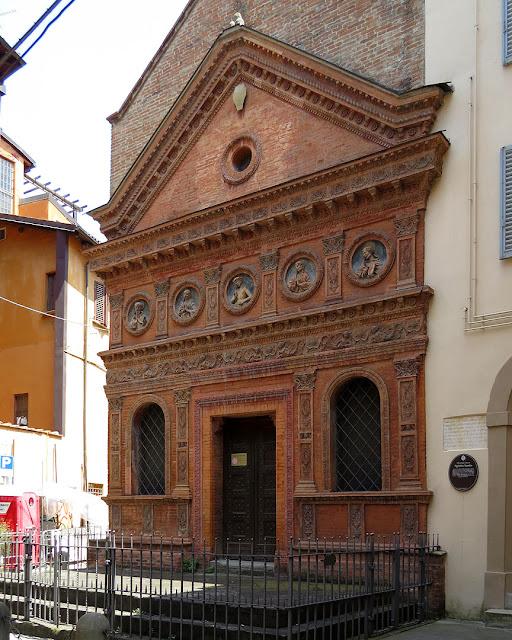 Oratorio dello Spirito Santo, Via Val d'Aposa, Bologna