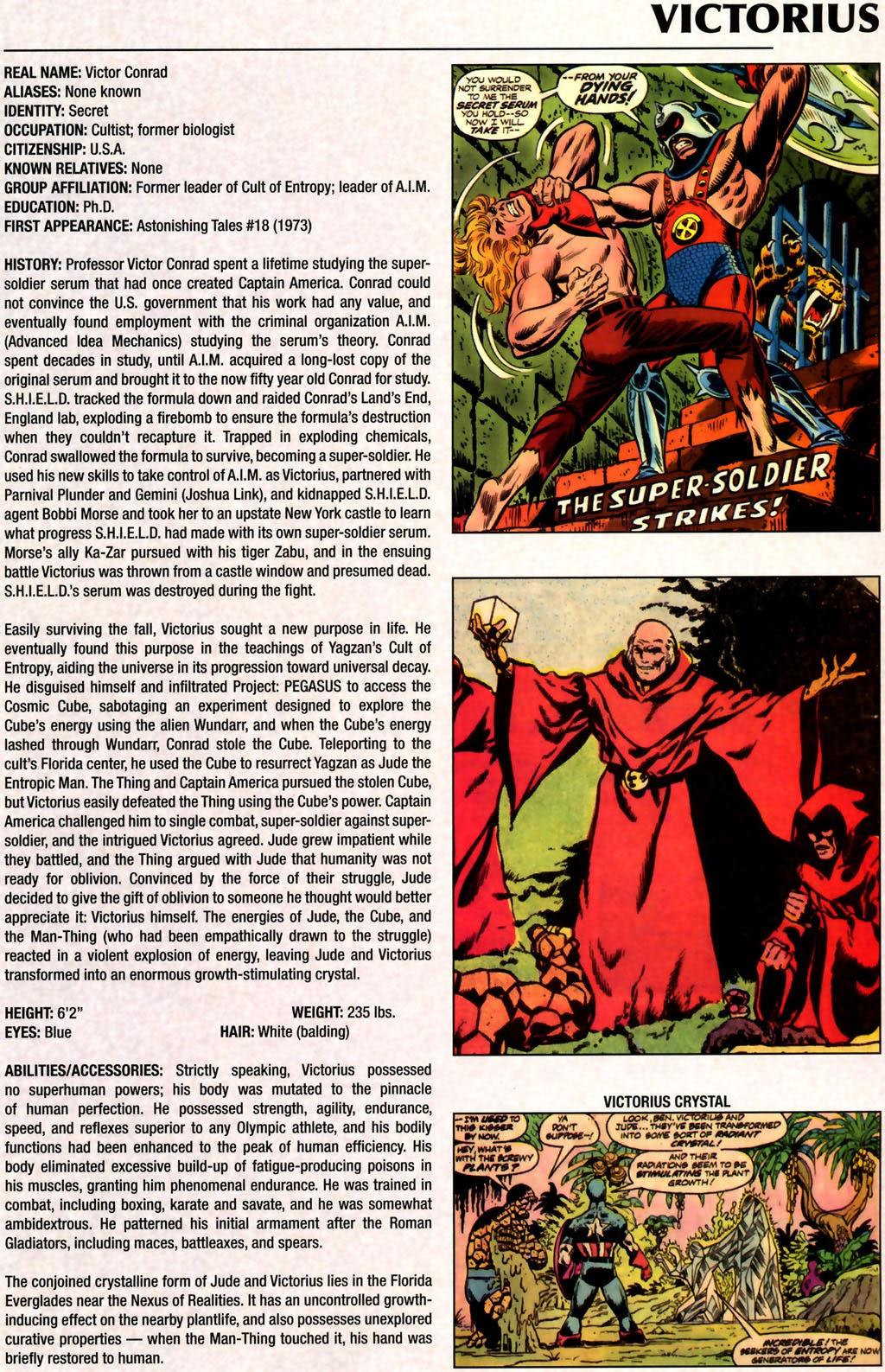 Read online Marvel Legacy: The 1970's Handbook comic -  Issue # Full - 61