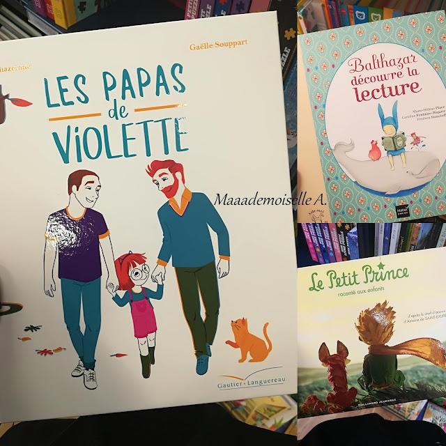 > Les papas de Violette  > Balthazar découvre la lecture  > Le Petit Prince raconté aux enfants