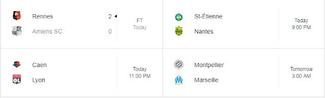 Jadwal Liga Prancis