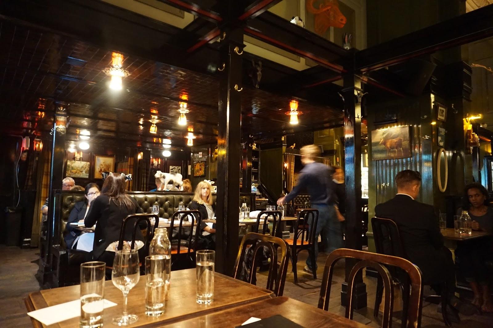 breslin restaurant nyc