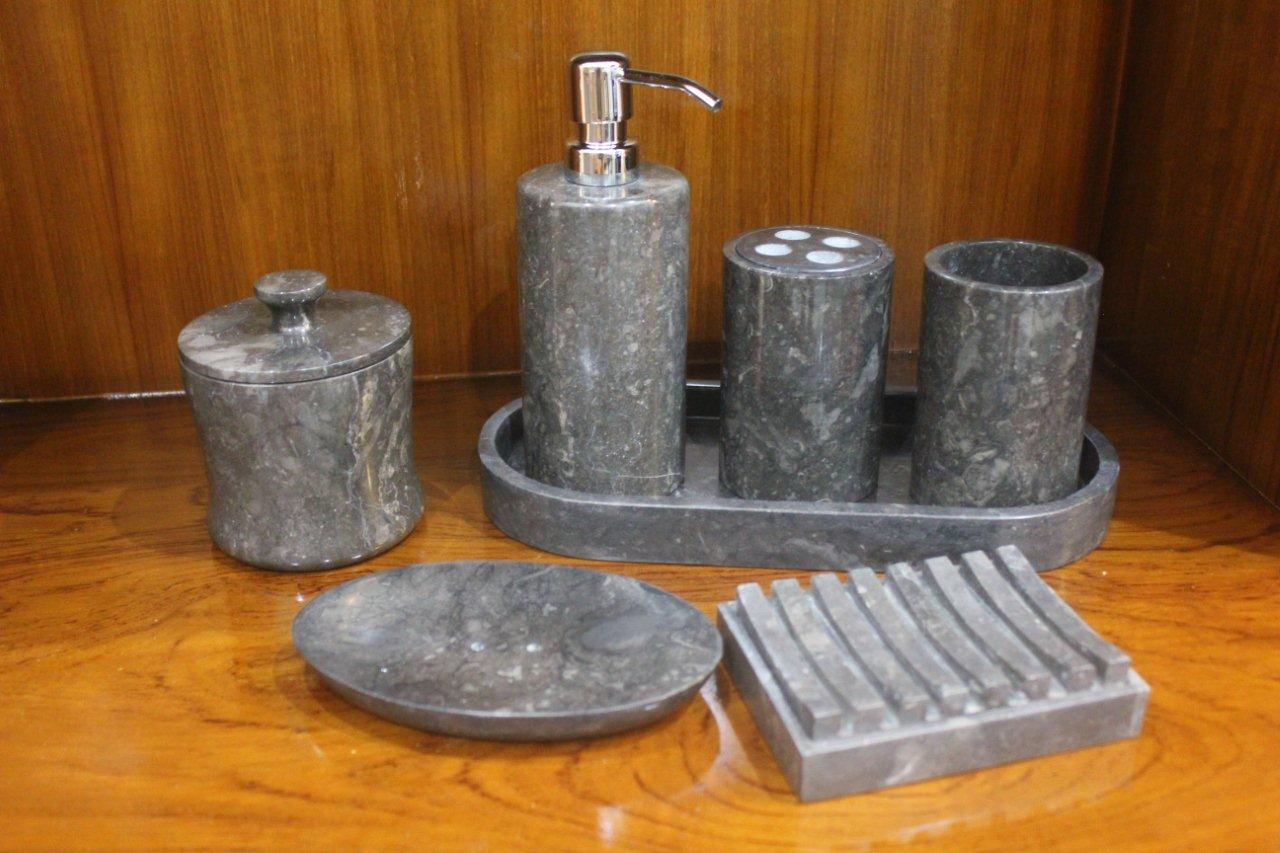 Bathroom Accessories  Stone Bath Sets