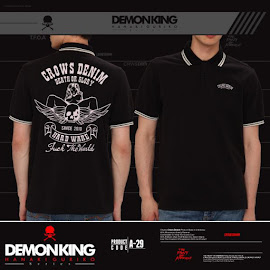 jas exclusive kaos polo demonking