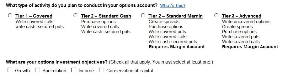 Tier 2 options trading td ameritrade