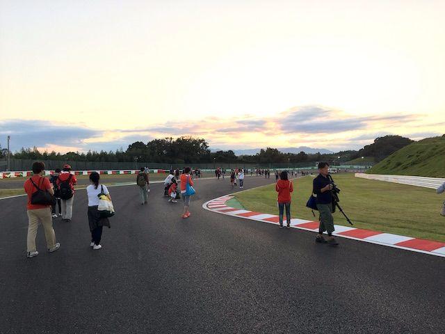 F1日本グランプリ2017 西コーストラックウォーク デグナー