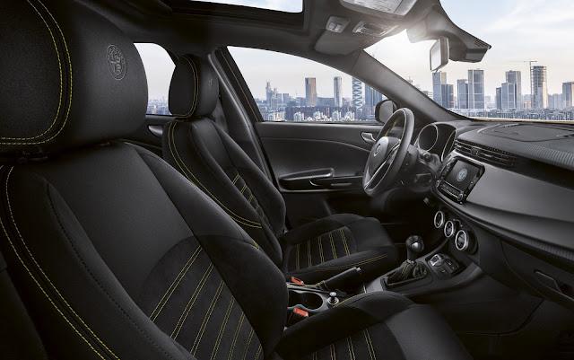 Alfa Romeo Giulietta 2019 - Veloce - interior