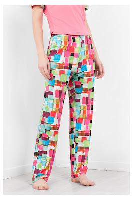 Mojito Squares Desigual. Pantalón de pijama
