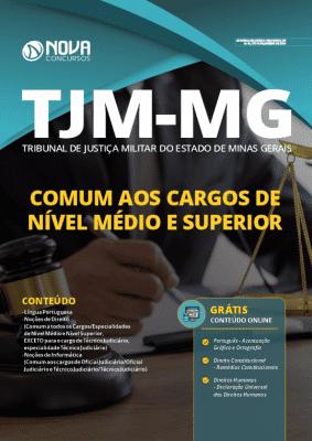 Apostila Concurso TJM MG 2020 Cargos de Nível Médio e Superior Grátis Cursos Online