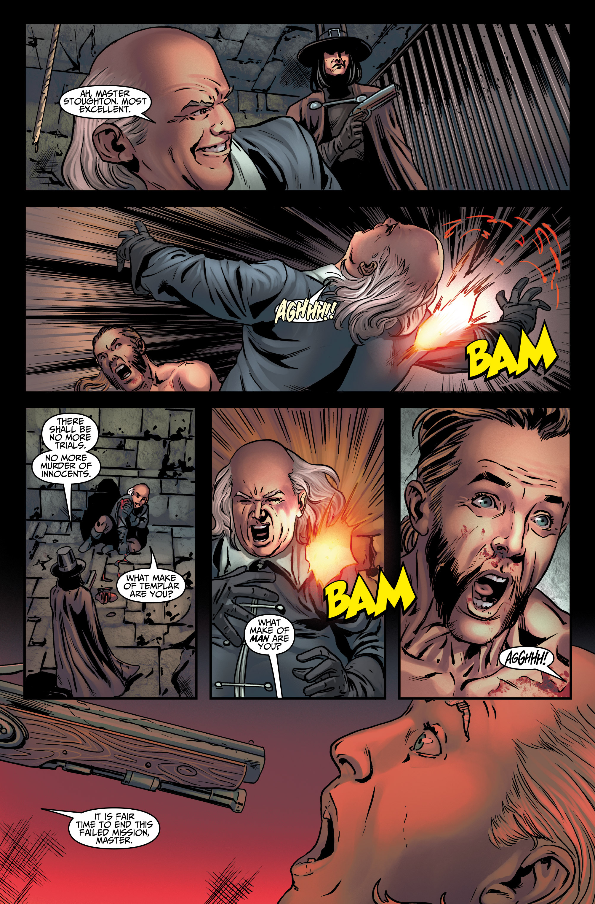 Read online Assassin's Creed (2015) comic -  Issue #4 - 20