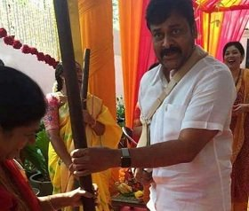 Celebrations in Chiranjeevi's House