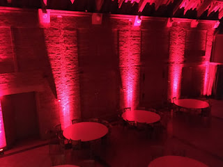 Avoncroft museum LED Moonlighting Uplighting Adie Hughes DJ