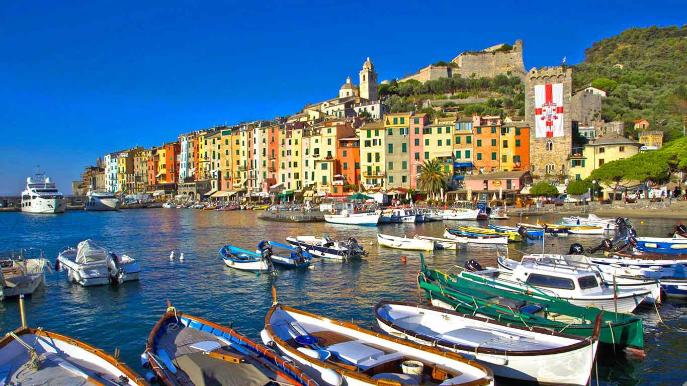 Portovenere Italy Beautiful Coastal Village