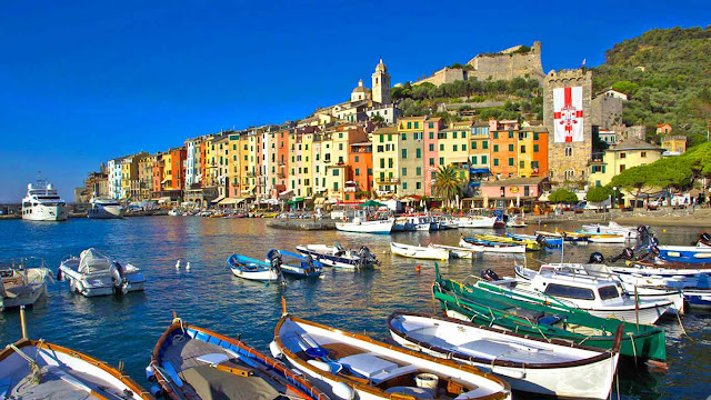 Portovenere Italy Beautiful Coastal Village