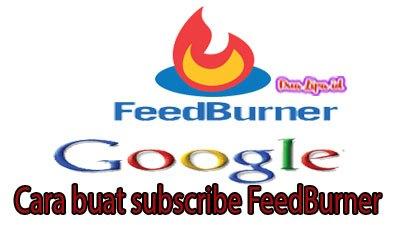 Cara buat subscribe FeedBurner