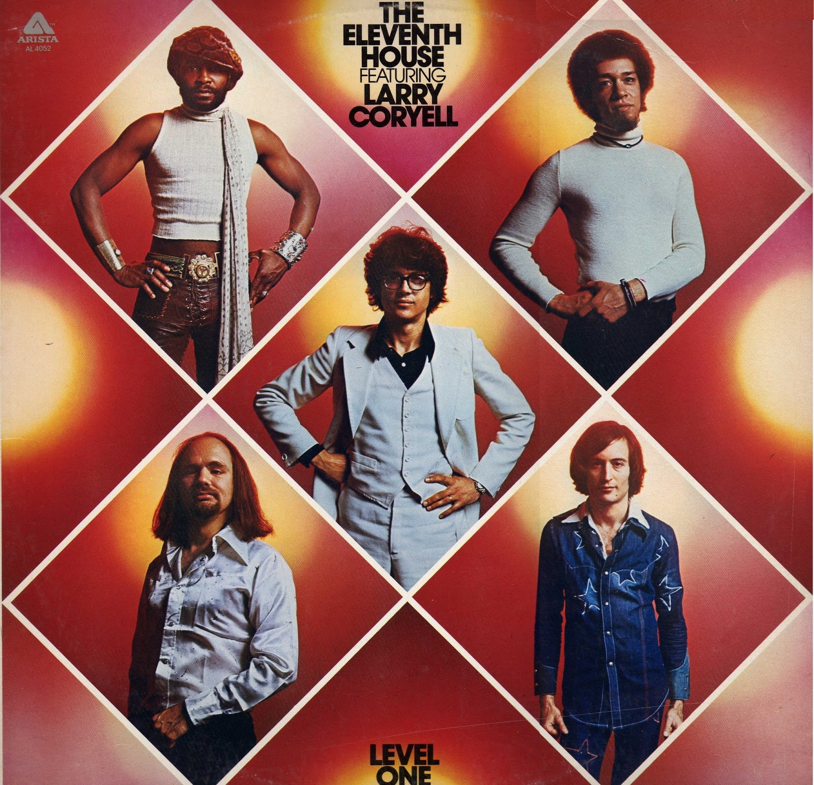 jazz rock fusion guitar the eleventh house feat larry coryell 1975 2012 level one. Black Bedroom Furniture Sets. Home Design Ideas