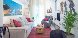 45 τμ στην Ιπποκράτους -Ανακαίνισαν ένα διαμέρισμα του 1970 και το μετέτρεψαν σε cοzy, μοντέρνο σπίτι