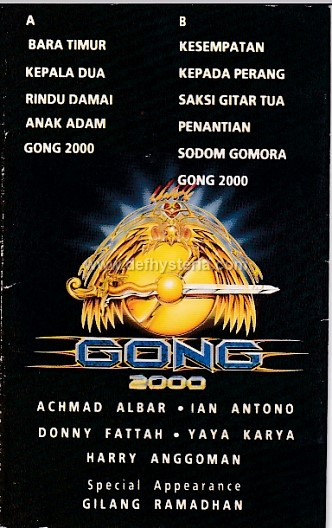 Def Hysteria Music Store Gong 2000 Gong 2000 Audio Kaset