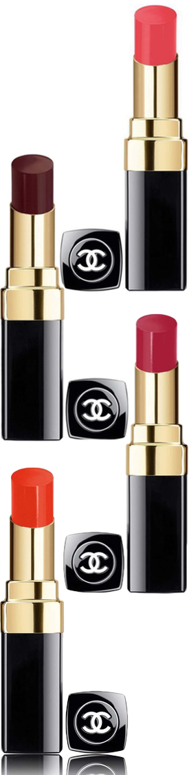CHANEL ROUGE COCO SHINE HYDRATING SHEER LIPSHINE (sold separately)