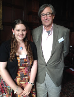 Sophie Andrews with Simon Langton