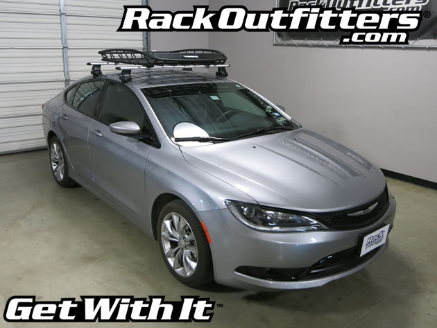 Chrysler 200 With Thule 859 Canyon On Thule Aeroblade