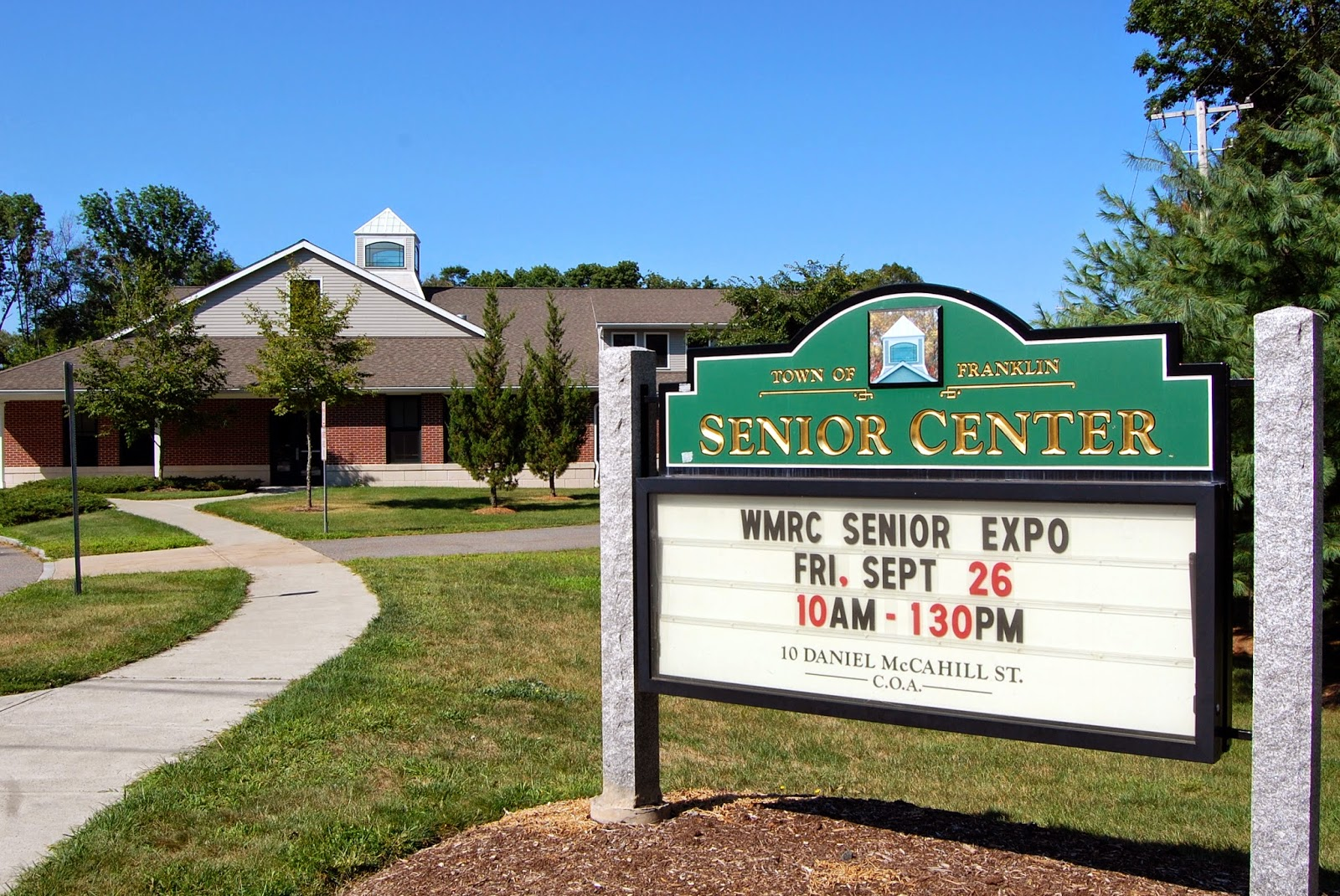 Senior Center - WMRC Expo Friday, Sep 26