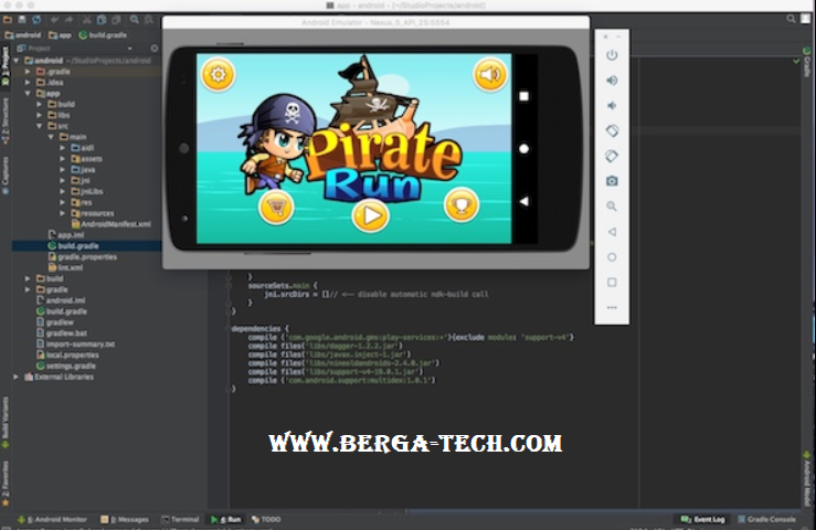 source code game android 2D Pirate Adventures - pirates game