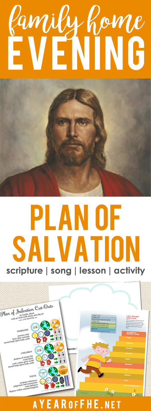 A Year Of FHE Year 02 Lesson 42 The Plan Of Salvation