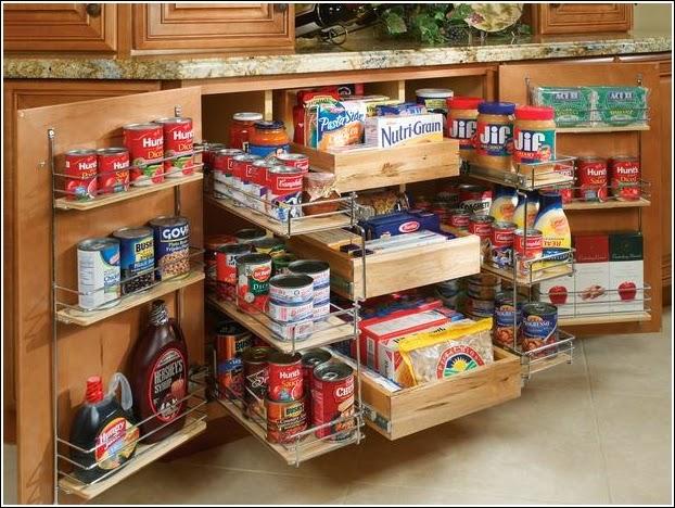 Small Kitchen Storage Ideas For A More Efficient Space: Mónica Diseños: Soluciones Simples Para Cocinas